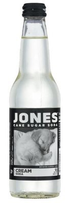 Cream Soda, Jones® Cream Soda (Single 12 oz Bottle)
