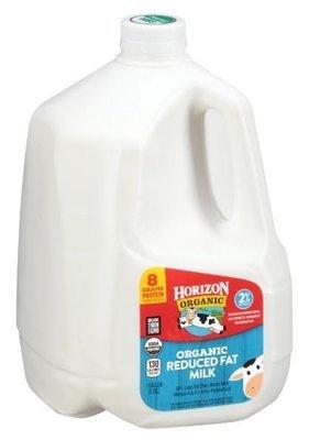 Dairy Milk, Horizon® Organic 2% Reduced Fat Milk (1 Gallon Carton)