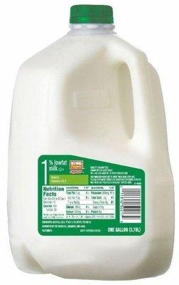 Dairy Milk, King Soopers® 1% Low Fat Milk (1 Gallon Jug)