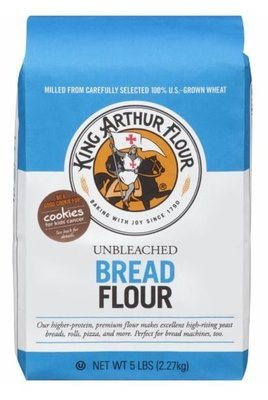 Baking Flour, King Arthur® All Purpose Unbleached Bread Flour (80 oz Bag)
