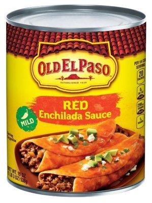Enchilada Sauce, Old El Paso® Mild Red Enchilada Sauce (19 oz Can)