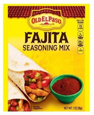 Fajita Seasonings, Old El Paso® Fajita Seasoning Mix (1 oz Bag)