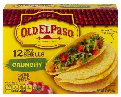 Taco Shells, Old El Paso® Crunchy™ Taco Shells (12 Shells, 4.6 oz Box)