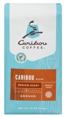 Ground Coffee, Caribou® Medium Roast Blend Ground Coffee (12 oz Bag)