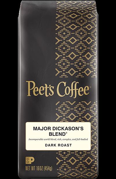 Ground Coffee, Peet's Coffee® Major Dickason's Blend® Ground Coffee (12 oz Bag)