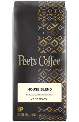 Ground Coffee, Peet's Coffee® House Blend® Ground Coffee (12 oz Bag)