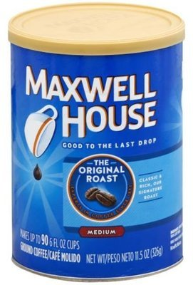 Ground Coffee, Maxwell House® Original Roast® Ground Coffee (11.5 oz Can)