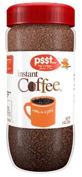 Instant Coffee, p$$t...® Instant Coffee (8 oz Jar)