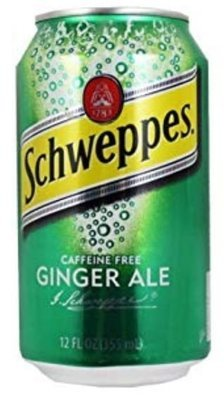 Soda, Schweppes® Ginger Ale ( 1 Single, 12 oz Can)