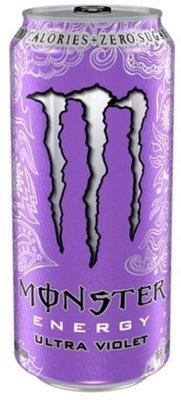 Energy Drink, Monster® Ultra Violet™ Energy Drink (16 oz Can)