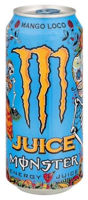 Energy Drink, Monster® Mango Loco™ Energy Drink (16 oz Can)