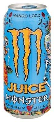 Energy Drink, Monster® Mango Loco™ Energy Drink (16 oz Can)