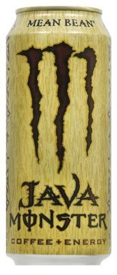 Energy Drink, Monster® Mean Bean Coffee + Energy™ Drink (15 oz Can)