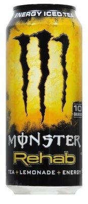 Energy Drink, Monster® Rehab Lemonade™ Energy Drink (15.5 oz Can)