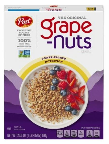 Cereal, Post® Grape-Nuts™ Cereal (20.5 oz Box)