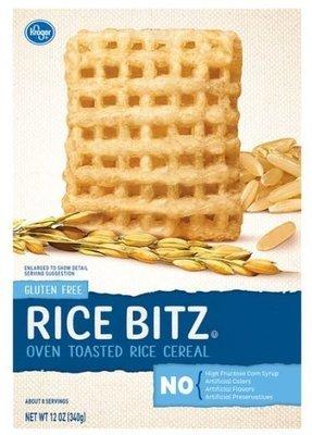 Cereal, Kroger® Rice Bitz Cereal (12 oz Box)
