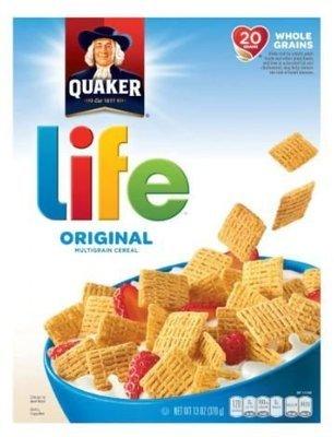 Cereal, Quaker Oats® Life® Original Cereal (13 oz Box)