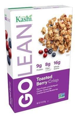 Cereal, Kashi® Go Lean™ Toasted Berry Crisp Cereal (14 oz Box)