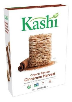 Cereal, Kashi® Organic Biscuits™ Cinnamon Harvest Cereal (16.3 oz Box)