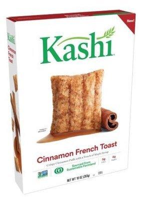 Cereal, Kashi® Cinnamon French Toast Cereal (10 oz Box)