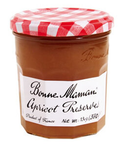 Fruit Spread, Bonne Maman® Apricot Preserves (13 oz Jar)