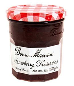 Fruit Spread, Bonne Maman® Strawberry Preserves (13 oz Jar)