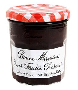Fruit Spread, Bonne Maman® Four Fruits Preserves (13 oz Jar)