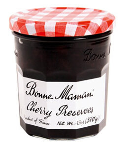 Fruit Spread, Bonne Maman® Cherry Preserves (13 oz Jar)