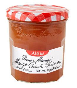 Fruit Spread, Bonne Maman® Mango Peach Preserves (13 oz Jar)