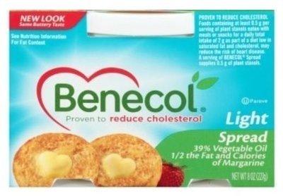 Butter, Benecol® Light Buttery Spread (8 oz Tub)