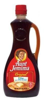 Pancake Syrup, Aunt Jemima® Lite Pancake Syrup (24 oz Bottle)