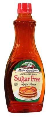 Pancake Syrup, Maple Grove Farms® Sugar Free Syrup (24 oz Bottle)