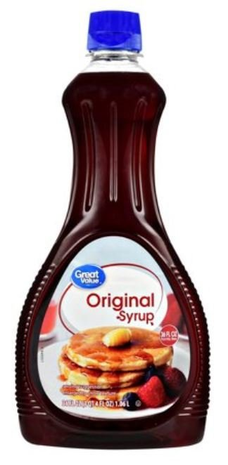 Pancake Syrup, Great Value® Original Syrup (36 oz Bottle)