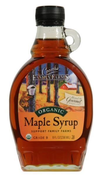 Pancake Syrup, Coombs Family Farms® Organic Maple Syrup (8 oz Bottle)