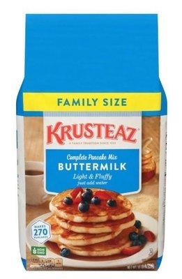 Pancake Mix, Krusteaz® Complete Light & Fluffy Buttermilk Pancake Mix (10 Lbs, 160 Oz Bag)