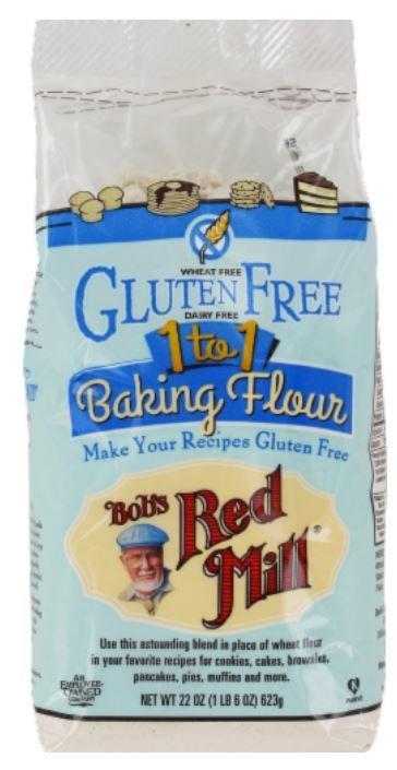 Baking Flour, Bob's Red Mill® Gluten Free 1-To-1 Baking Flour (22 oz Bag)