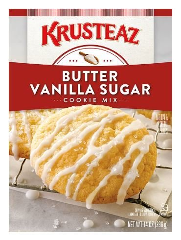 Cookie Mix, Krusteaz® Butter Vanilla Sugar Cookie Mix (14 oz Box)