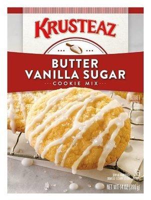 Cookie Mix, Krusteaz® Butter Vanilla Sugar Cookie Mix (14 oz Box)