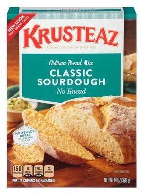 Sourdough Mix, Krusteaz® Classic Sourdough Artisan Bread Mix (14 oz Box)