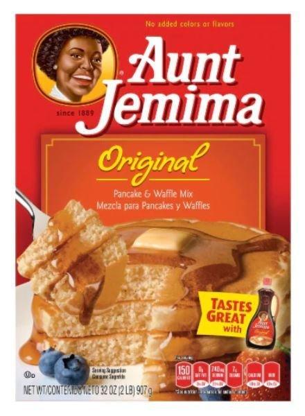 Pancake Mix, Aunt Jemima® Original Pancake & Waffle Mix (32 oz Box)
