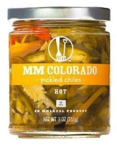 Preserved Chiles, MM Colorado® Hot Pickled Chiles (9 oz Jar)