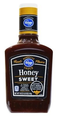 BBQ Sauce, Kroger® Honey Sweet BBQ Sauce (18 oz Bottle)