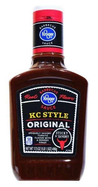 BBQ Sauce, Kroger® KC Style BBQ Sauce (17.5 oz Bottle)