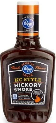 BBQ Sauce, Kroger® KC Style Hickory Smoke BBQ Sauce (17.5 oz Bottle)