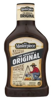 BBQ Sauce, KC Masterpiece® Original BBQ Sauce (28 oz Bottle)