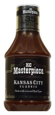 BBQ Sauce, KC Masterpiece® Kansas City Classic BBQ Sauce (21 oz Bottle)