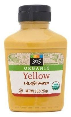 Mustard, 365® Organic Yellow Mustard (8 oz Bottle)