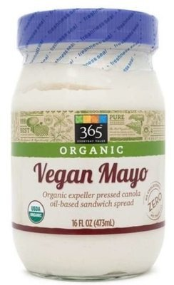 Vegan Mayonnaise, 365® Organic Vegan Mayonnaise (16 oz Jar)