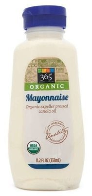 Organic Mayonnaise, 365® Organic Mayonnaise (Squeezable 11.2 oz Bottle)