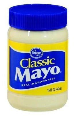 Mayonnaise, Kroger® Classic Mayo Mayonnaise (15 oz Jar)